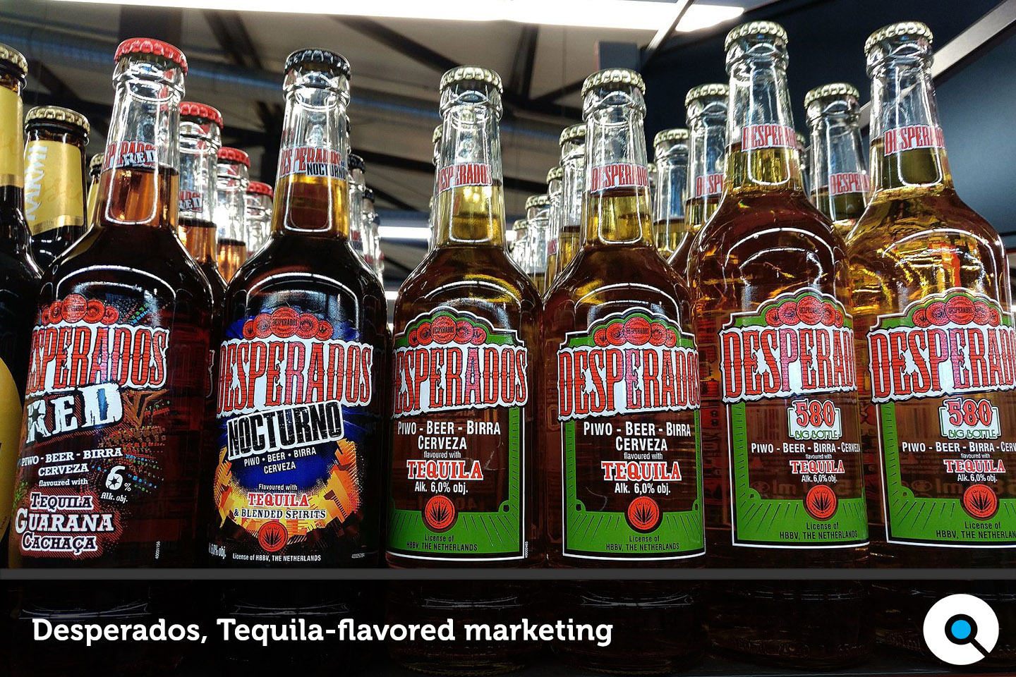 Desperados, Tequila-flavored marketing - Lincelot - FI