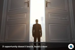 If opportunity doesn't knock build a door - Lincelot - FI