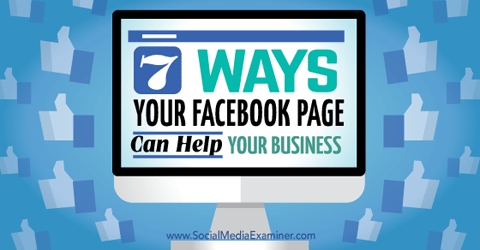 Ways Facebook Page Can Help Business
