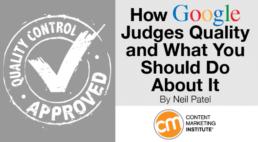 how Google judges quality