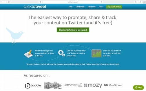Ga naar Click to Tweet