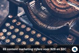 69 content marketing cijfers voor B2B en B2C