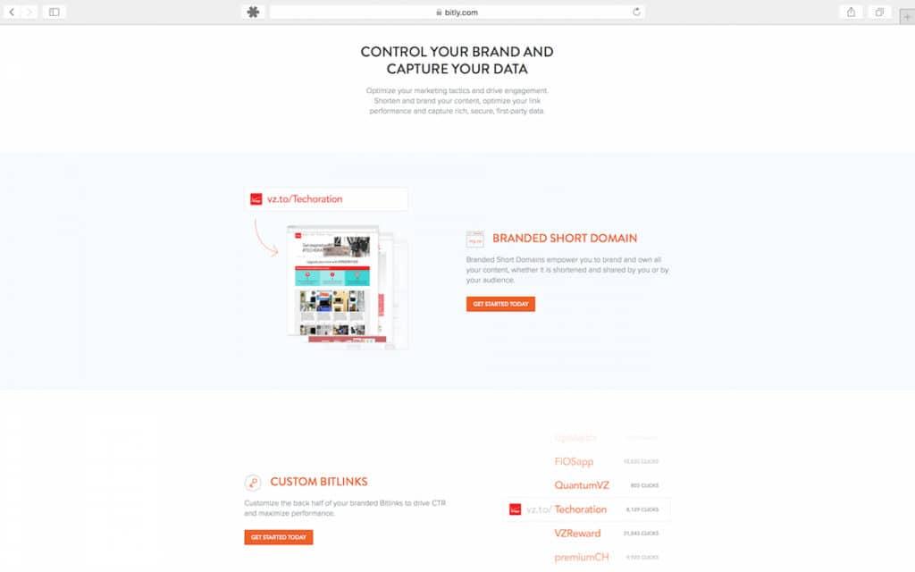 Gebruik de brand tools van Bitly om je merk te versterken!