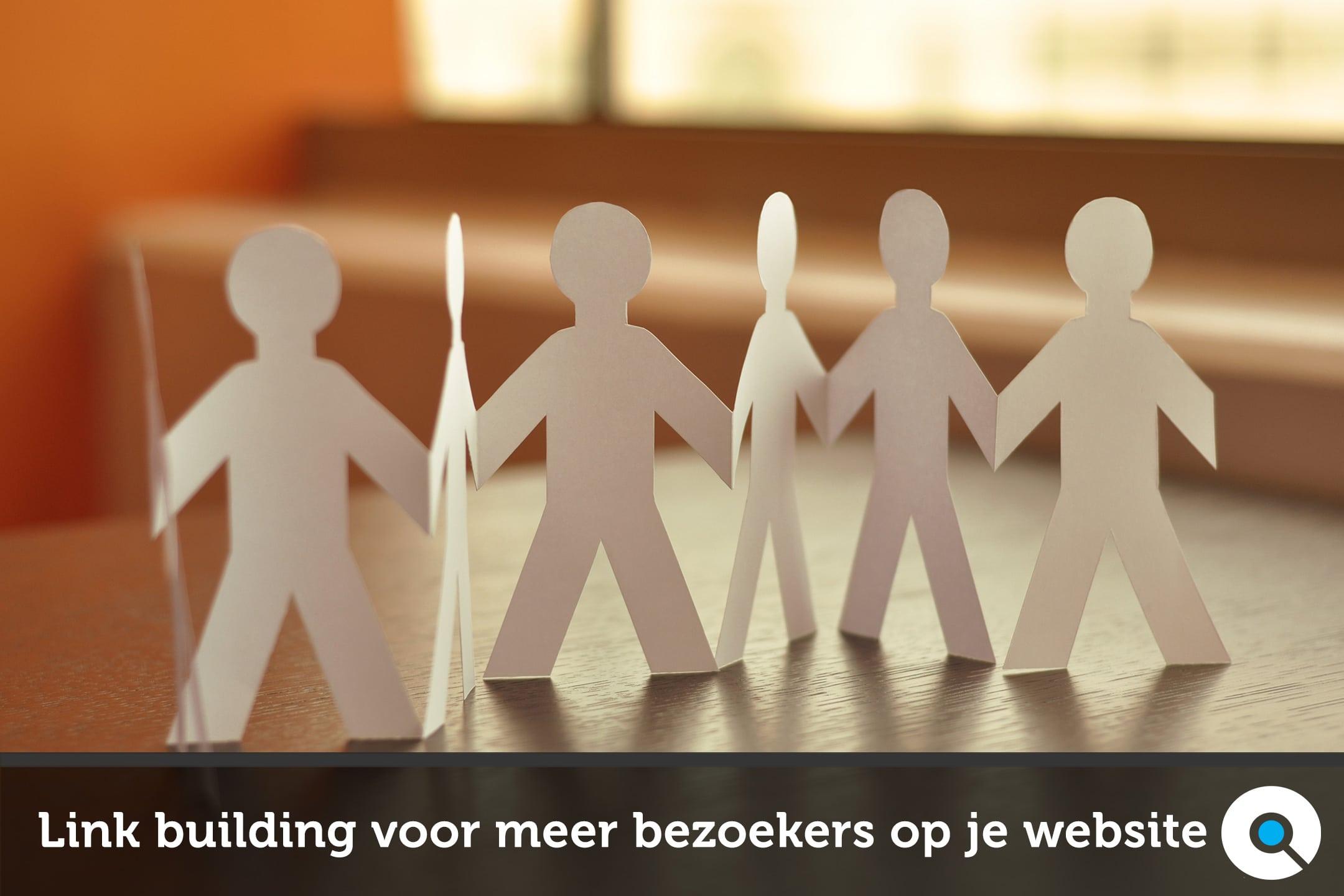 Link building voor meer bezoekers op je website