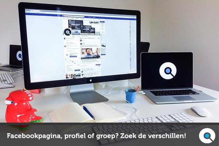 Facebookpagina - Facebookgroep - Facebookprofiel