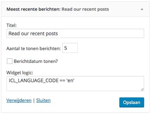 Widget Logic - WordPress Plugins