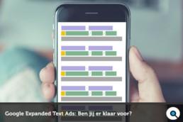 Google Expanded Text Ads- Ben jij er klaar voor - Lincelot FI