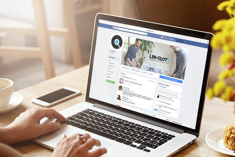Facebook bedrijfspagina - Lancering nieuwe website - Lincelot