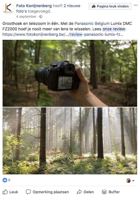 Facebook post idee 35 - Review - Lincelot