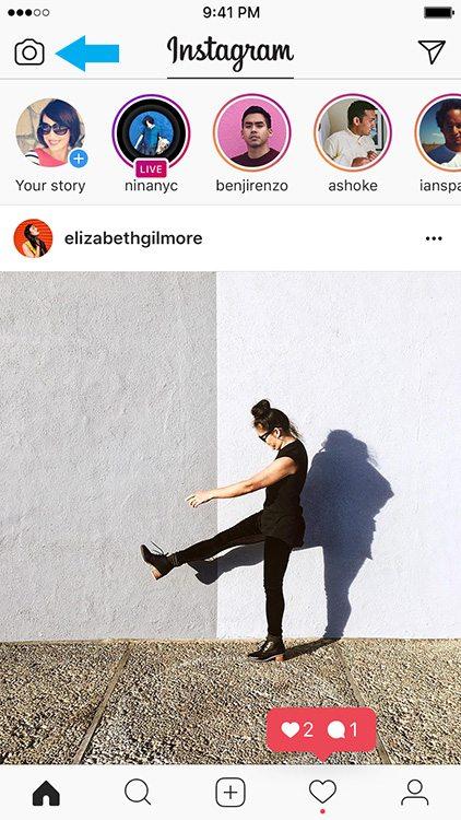 Instagram Stories - Camera-icoon - Lincelot