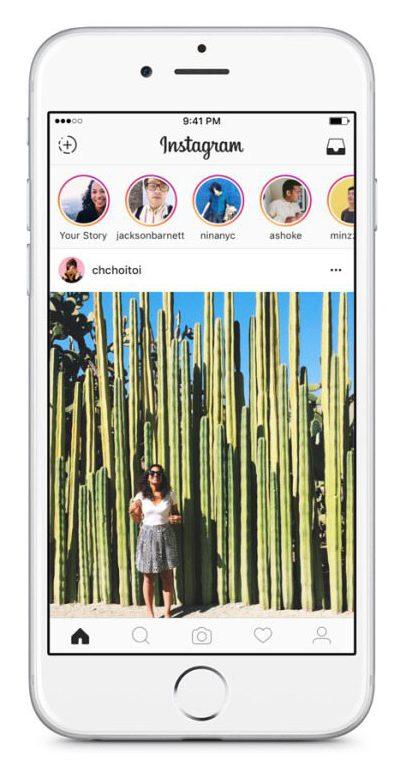 Voorbeeld Instagram Stories - Lincelot