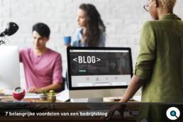 7 belangrijke voordelen van een bedrijfsblog - Lincelot - FI