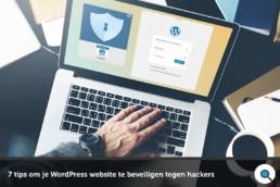 7 tips om je WordPress website te beveiligen tegen hackers - FI