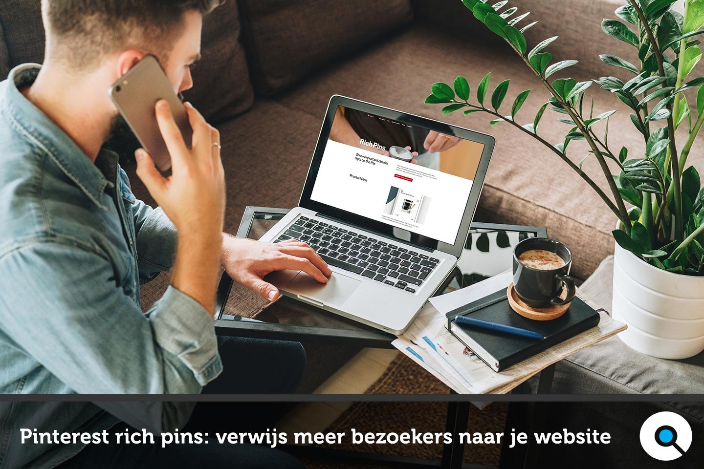 Pinterest rich pins - haal meer bezoekers naar je website via Pinterest