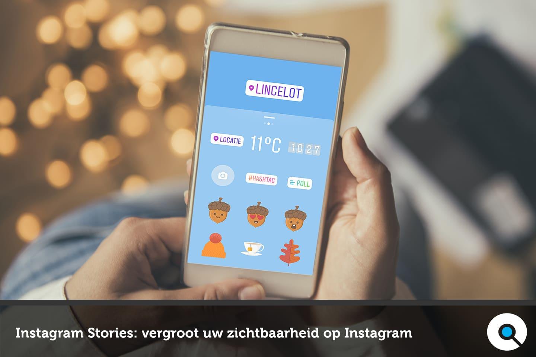 Instagram Stories - vergroot uw zichtbaarheid op Instagram - Lincelot - FI