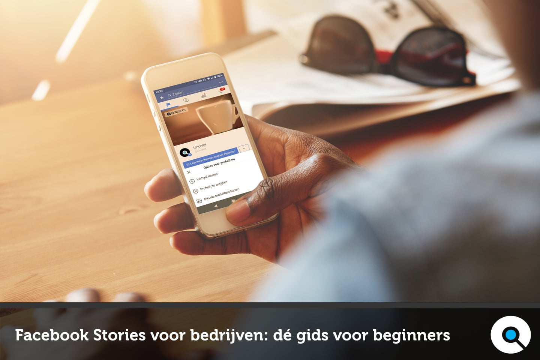 Facebook Stories voor bedrijven - dé gids voor beginners - Lincelot - FI