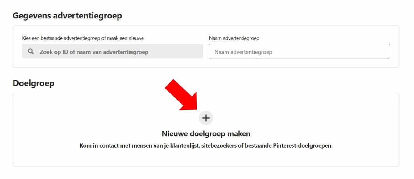 Adverteren op Pinterest - een handige gids voor bedrijven - Doelgroep instellen - Lincelot