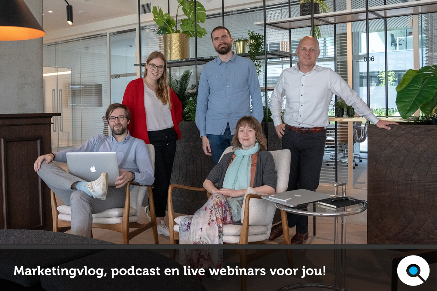 Lincelot start een marketingvlog, marketingpodcast, live webinars
