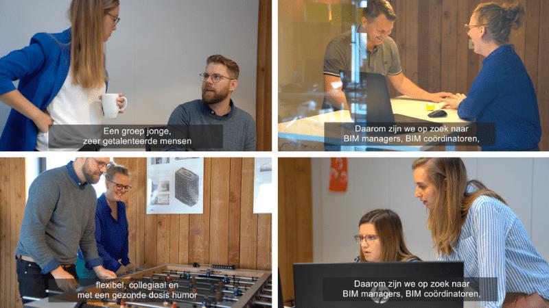 videovacatures Lincelot - bimplan voorbeelden van collega's